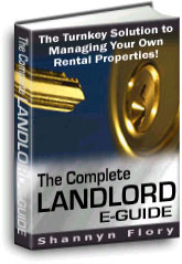 Landlord Guide Book with Real Estate Forms